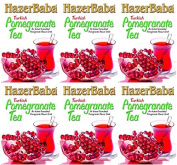 Hazer Baba Turkish Pomegranate Tea 250g x 6 Packs