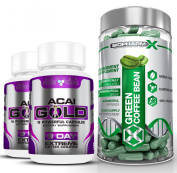 Green Coffee Bean Extract & Acai Berry Gold : Max Strength Diet / Detox & Weight Loss Bundle