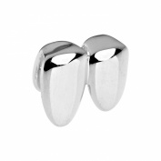 Double Single Teeth Grill - One size fits all - Silver