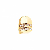 Bling 10x8mm Grill - One size fits all Tooth - gold