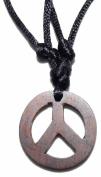 Peace Sign - Pendant made ..of wood 50 mm