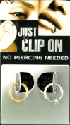 1 x Fake Piercing Test on 8 mm 1 x Silver Ring Vaginal Lips Gold Nose Clip 90011