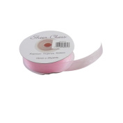 Light Pink 15mm x 22 Metres Organza Ribbon For Favour Boxes & Crafts - Stella Crafts