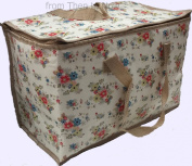Vintage Floral Summer Daisy Insulated Eco Cool Picnic Bag