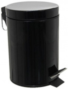 JJA 105613 Metal Bin 3 Litre Black