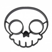 KINGSO Funny Side Up Skull Egg Shaper Mould Breakfast Fried Mould