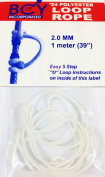 New Archery BCY D - Loop Rope / String 1 Metre White by ASD