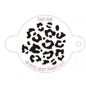TAP Re-useable Face Paint Stencils - TAP006 Animal Print