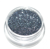 Grey Charcoal Eye Shadow Loose Glitter Dust Body Face Nail Art Party Shimmer Make-Up