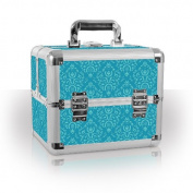 Professional Beauty Case Organiser Mombasa Imperial Teal Manicure Tools Storage Box
