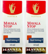2 Pack of Mavala Stop Nail Biting and Thumb Sucking 0.3oz/10ml, Mavala Switzerland, Value Pack