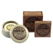 Mitchell's Ceramic Shaving Bowl, Soap and Additional Boxed Lanolin Shaving Soap
