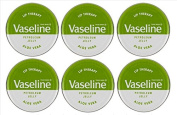 Vaseline Lip Therapy Petroleum Jelly 20g ALOE VERA x 6 Tins