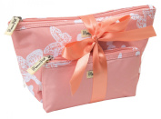 Primrose Hill All of a Flutter Tote Set, Peach - Pack of 2