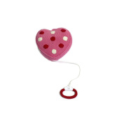 Hand Crocheted Heart Musical Cot Mobile
