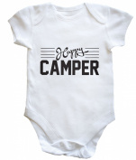 HippoWarehouse happy camper baby vest boys girls