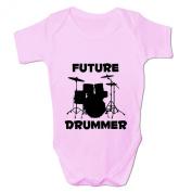 Bang Tidy Clothing Baby Girl's Future Drummer Baby Grow Bodysuit