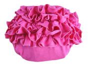 BuyHere Baby Girl's Cotton Frilled Ruffle Underpants,Rose Red,Small Size