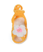 JTC Flowers Baby Girls Sandal Knit Shoes 0-18 Mon Infant First Walking Shoes Gift For Baby 4 Colours