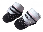 *BS48* SOFT TOUCH BEAUTIFUL BABY GIRL SUMMER PARTY/CRISTENING SOCKS/PRAM SHOES INFANT GIFT 0-6 MONTHS FLOWER DIAMONTE/DIAMANTE/CRYSTAL MARY JANES