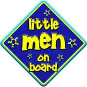 FUNKY LITTLE MEN Baby on Board Car Window Sign