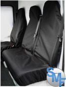 Ford Transit 2002 Heavy duty van seat covers black 2+1
