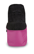 UNIVERSAL FOOTMUFF COSY TOES FITS BUGGY & ALL PUSCHAIR ACCESSORIES - PINK