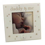 Bambino Resin Photo Frame Daddy and Me 10cm x 10cm