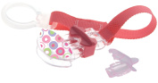 MAM Clip & Teat Cover Pink - Patterns May Vary