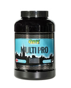 MULTI PRO - The Ultimate Protein Mass Gainer Complex of Whey, Rice, Pea & Hemp Protein designed to promote Muscular Growth and Maintenance.