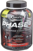 MuscleTech 2Kg Strawberry Multi Phase 8 Hour Protein Supplement
