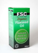FSC Organic Flaxseed Oil x 500ml NO VAT Organic Health Products