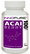Acai Berry Extract 100% Pure | High Strength 4,000mg / Daily Dose | 1 Month Supply | Innopure®