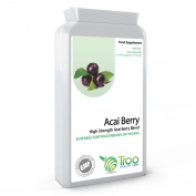 Acai Berry 1000mg 120 Capsules - DOUBLE STRENGTH Freeze Dried Acai Berry - Weight Loss, Cleanse, Detox, Energy, Antioxidant, Health Maintenance, Superfood, UK BEST SELLER