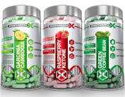 Garcinia Cambogia & Raspberry Ketones & Green Coffee Bean Extract
