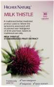 Higher Nature Milk Thistle - 30 hard capsules