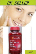 Red Yeast Rice for Cholesterol & Heart 600mgx120 capsules