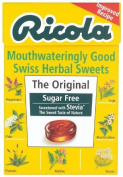 Ricola Swiss Sugar Free Herb with Stevia herbal drops 45g
