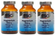 MAGNESIUM 500mg X 90 VEGICAPS FSC TRIPLE PACK