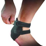 COOLOMG Black Neoprene Ankle Open Brace Support Pad Guard Achilles Tendon Sports Strap Foot