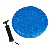 Puregadgets© Blue Stability Disc Balance Board Pad Wobble Ankle Knee Support Training Recover Physio Support Recovery Disc