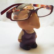 Comic Female Specs or Glasses Holder