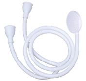 Single or Double Tap Bath Sink Shower Head Hose Spray Hair Dresser Pet Push On Mixer 1.5 - 1.7m