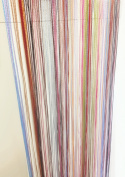 A-Express® String Curtains Door Fly Screen Windows Divider Patio Net Fringe