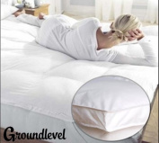 HOTEL QUALITY MICROFIBRE MATTRESS TOPPERS KING BED ANTI ALLERGENIC & MACHINE WASHABLE