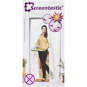 Venteo 5244 Mosquito Net for Door with Magnets 215 x 50 cm x 2 White