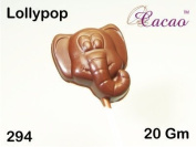 Elephant Lolly Chocolate Mould 4 Cavity