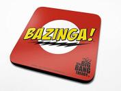 The Big Bang Theory Bazinga! Coaster