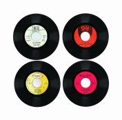 Northern Soul Rare Record Coasters 4 Piece Wooden Coaster Set