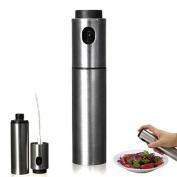 Stainless Steel Olive Pump Spraying Bottle Sprayer Can Oil Jar Pot Kitchen Tool